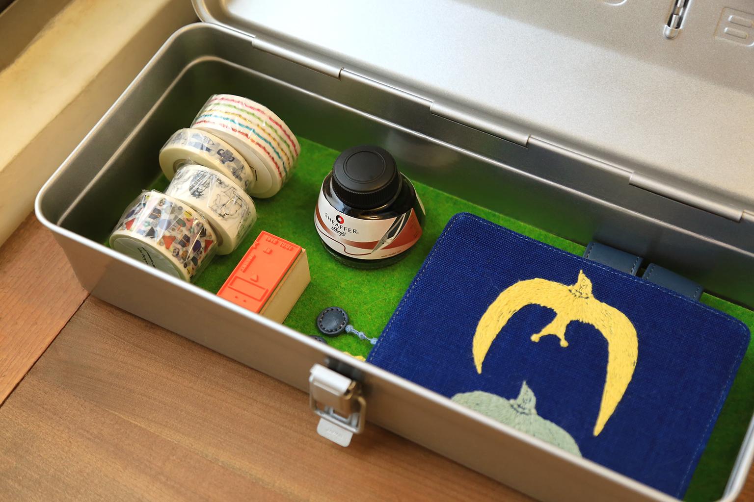 TRUSCO職人烤漆工具箱-內裝大容量