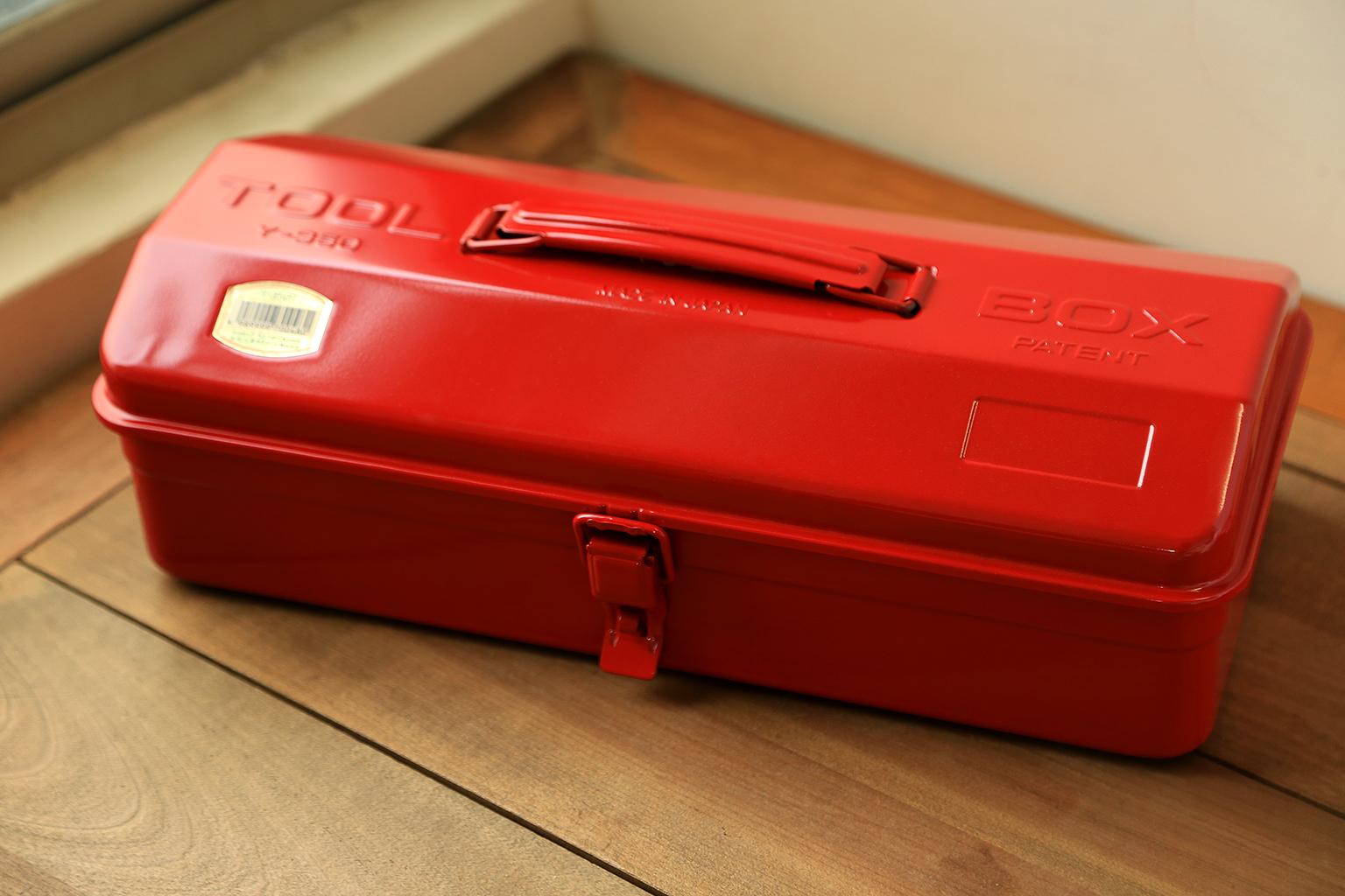 TRUSCO職人烤漆工具箱-法拉利紅
