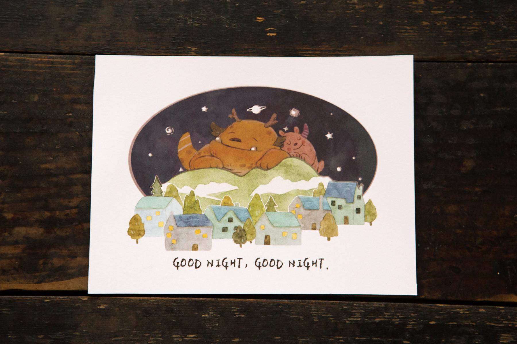 01. 晚安晚安